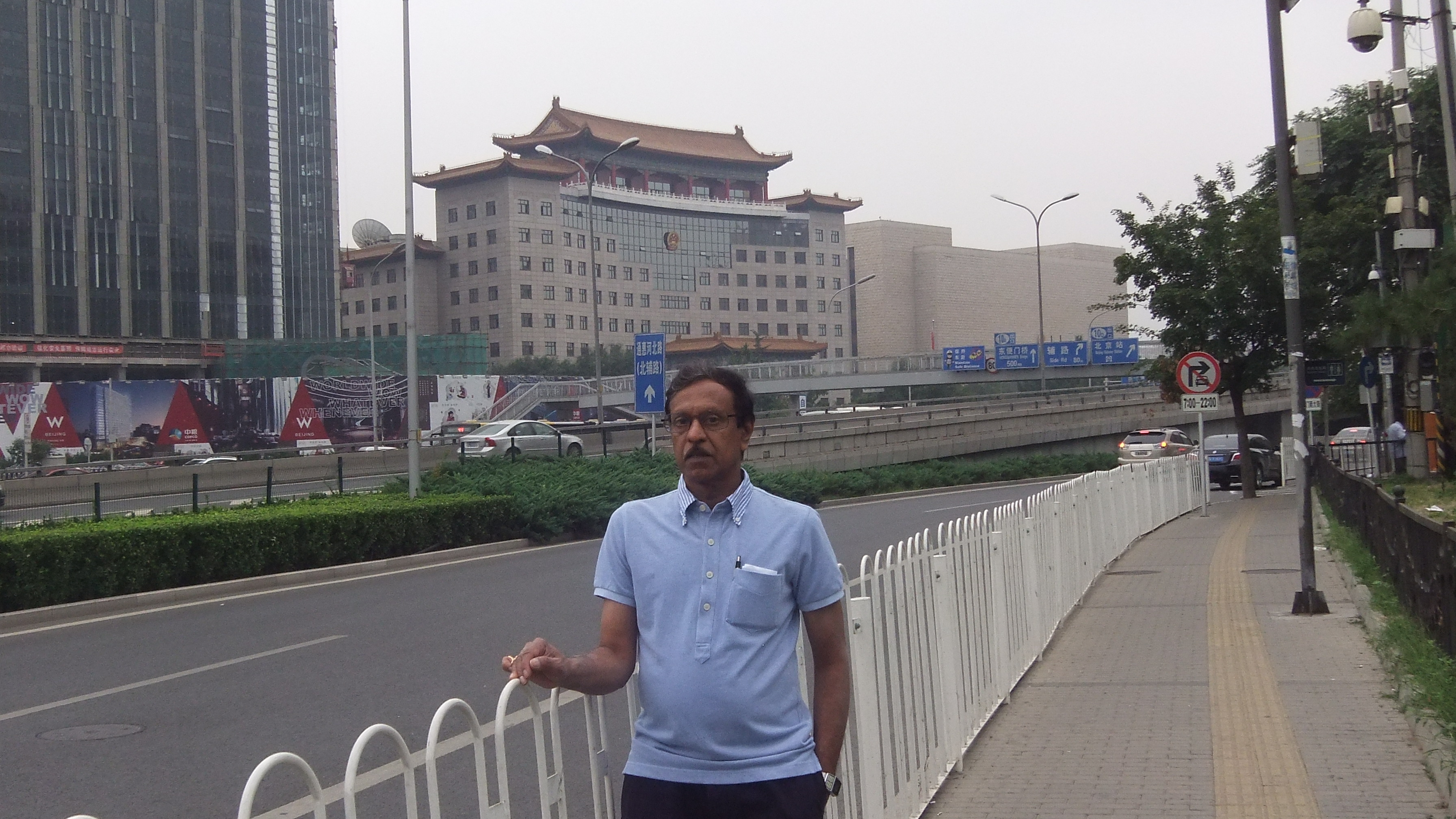 Bhavani Shankar Kodali in China